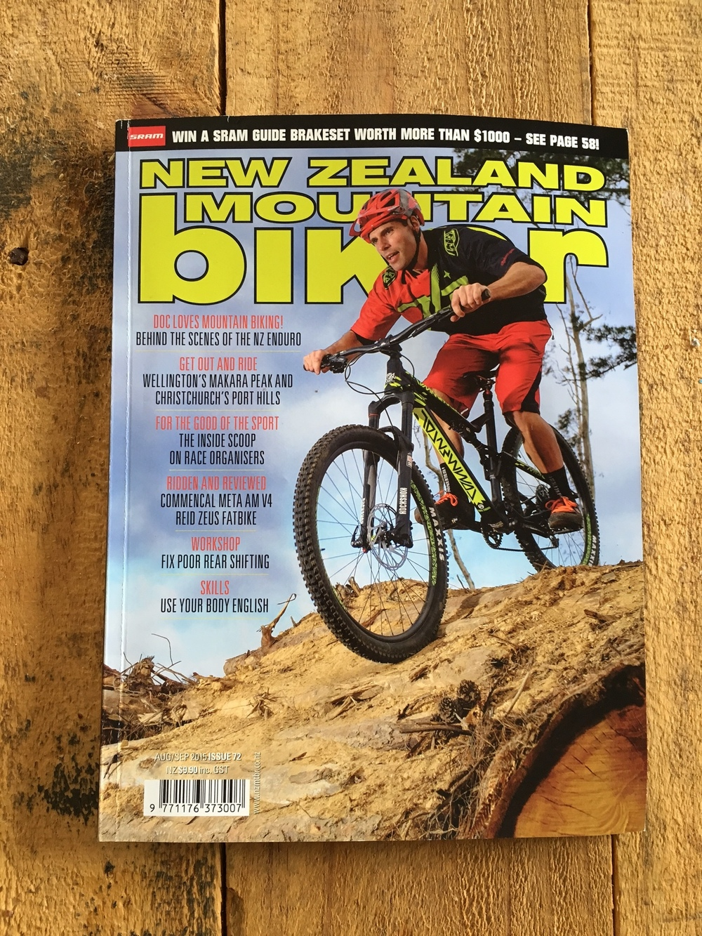 NZ Mountain Biker Magazine