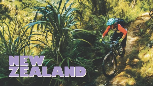 Going Places video. Juliana Bicycles, NZ 2016