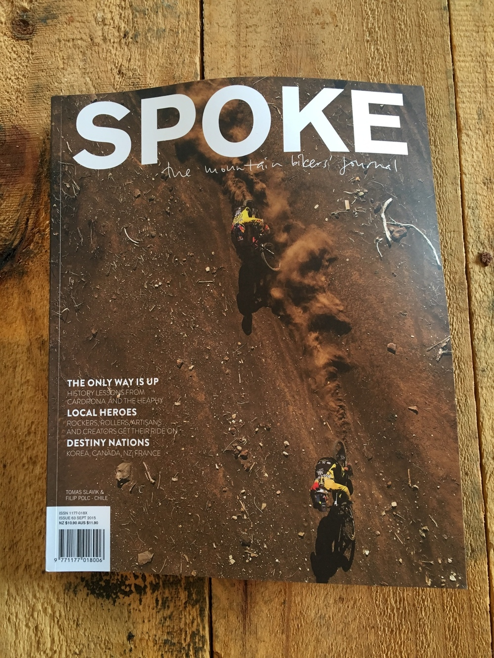 Spoke magazine, NZ