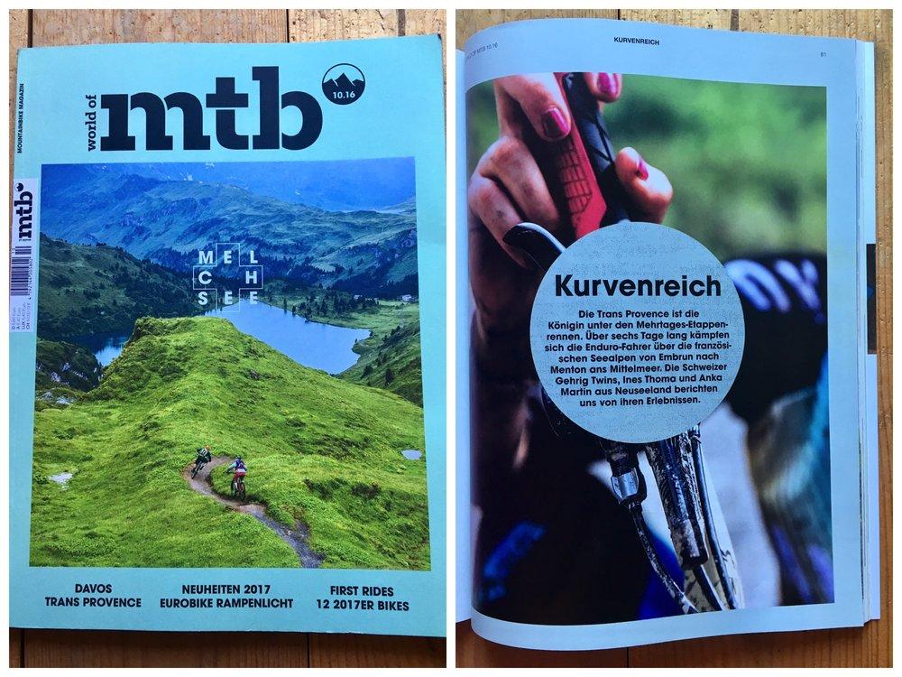 Trans Provence 2016 German World of MTB