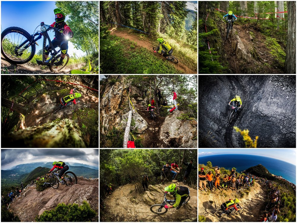 2016 EWS Season:      Snowmass CO, Whistler Canada, Valberg France, Finale Ligure Italy.
