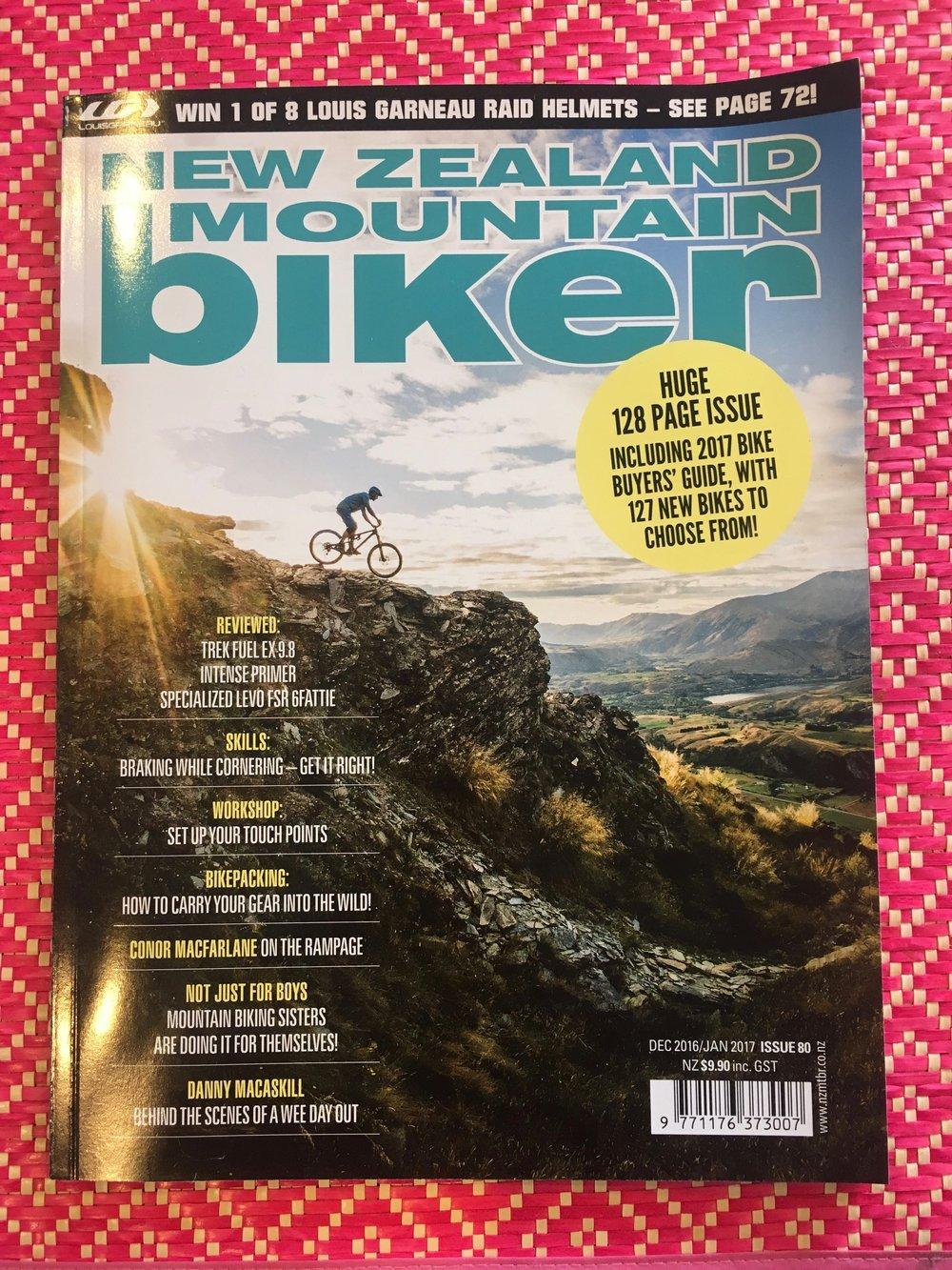 NZ Mountain Biker