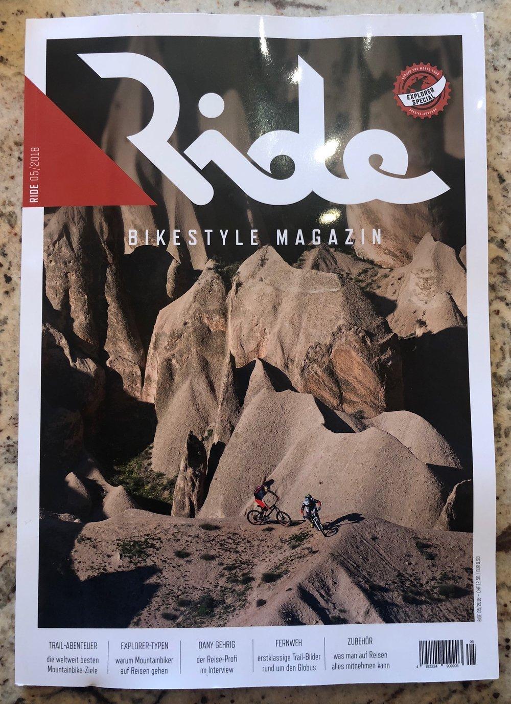 Ride Magazine - Switzerland