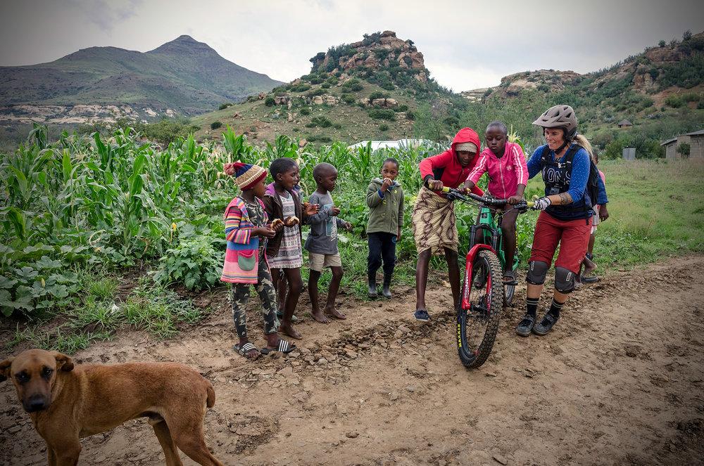 Roma, Lesotho. Photo Mick Kirkman