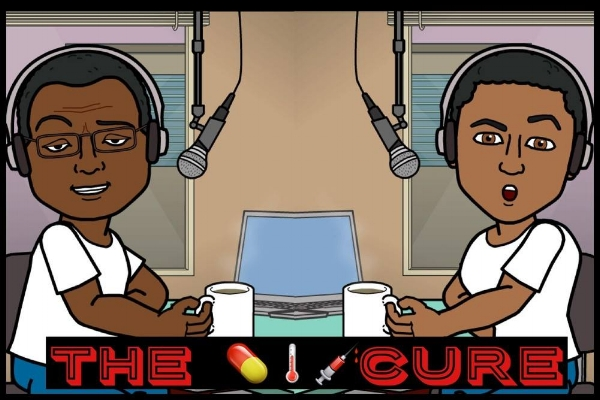 Two cousins discussing current events and the nonsense happening in society today. Enjoy their weekly sitcom theme song intros and rants.  Ask them questions , discover new millennial hustlers, and sing-a-long to the throwback hit of the week. L isten to the podcast  wherever podcasts are found and check out  TheCurePodcast.com !
