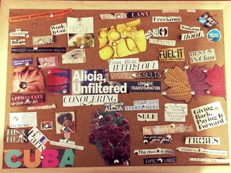 My 2017 Vision Board. I would say 80% manifested! The other 20% is in the works!