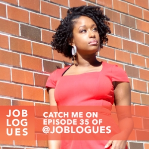 Joblogues Episode 35: Keeping it Real - On this episode, I go from listener to co-host as I join one of my #groupchatgirlfriends Joymarie in the studio for a fun discussion on embracing your authentic self at work. Plus, listener questions, rants raves reviews and more!Connect with Joblogues: @joblogues | @cleveoutloud | @heymissparkerr