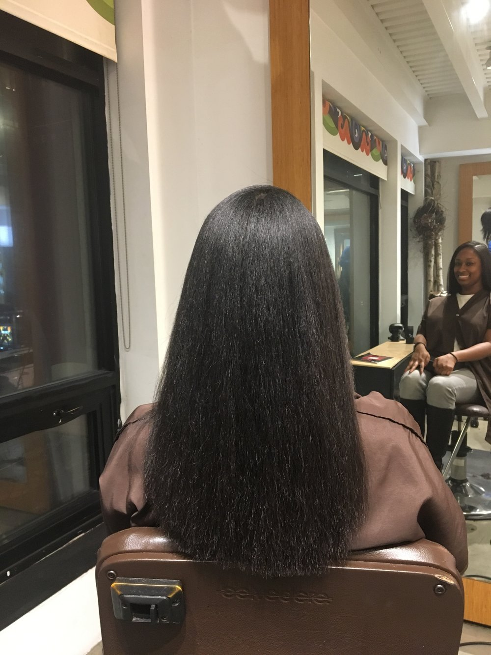 November 2018 Hair Straight and Fresh Trim