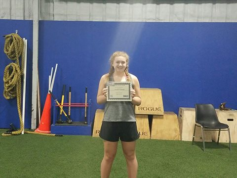 Megan Townsend, member of the month!