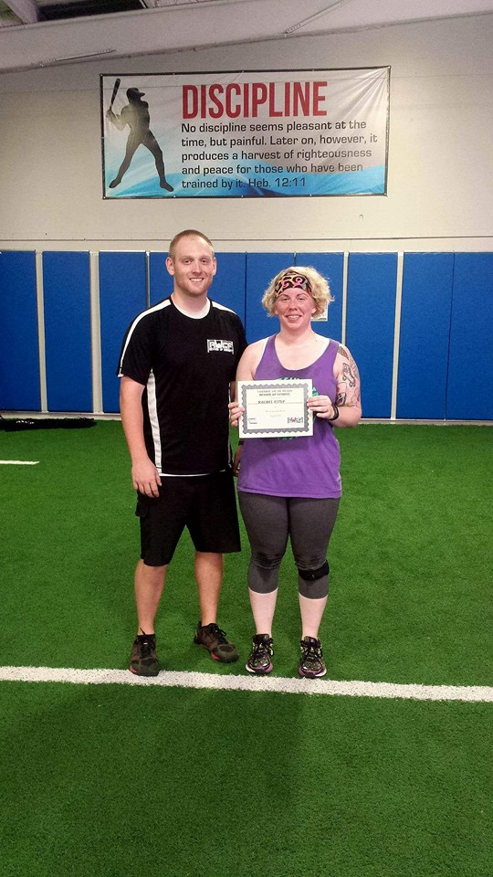 Congratulations to Revved Up CrossFit Member of the Month Rachel Estep