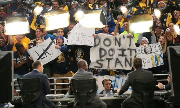 Do you hear your customers, Stan? ( Source-Chris Lee-St. Louis Post-Dispatch via AP)