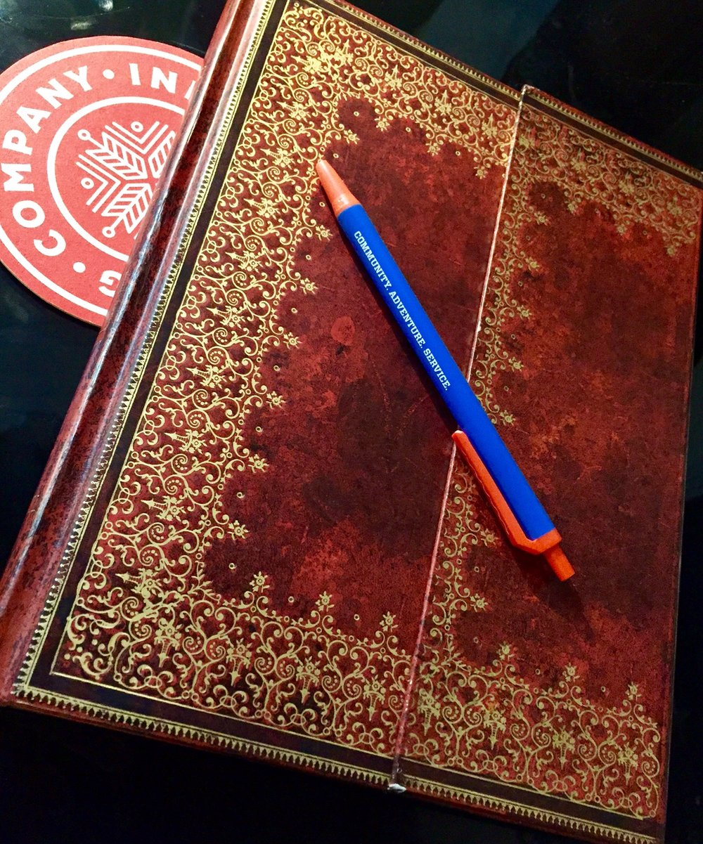 If you're going to journal, please do yourself a favor and invest in a nice journal. I've preferred Paperblanks for years.