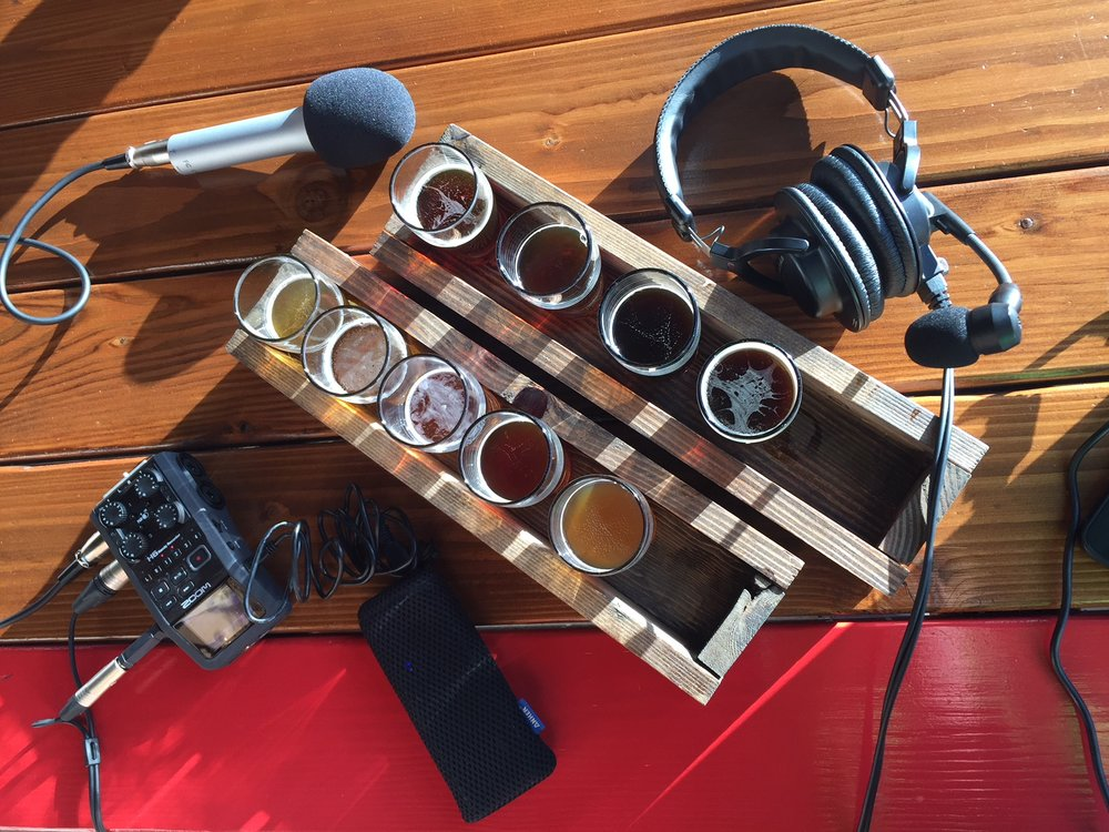 Beer: The Centerpiece of this Mobile Podcasting Studio