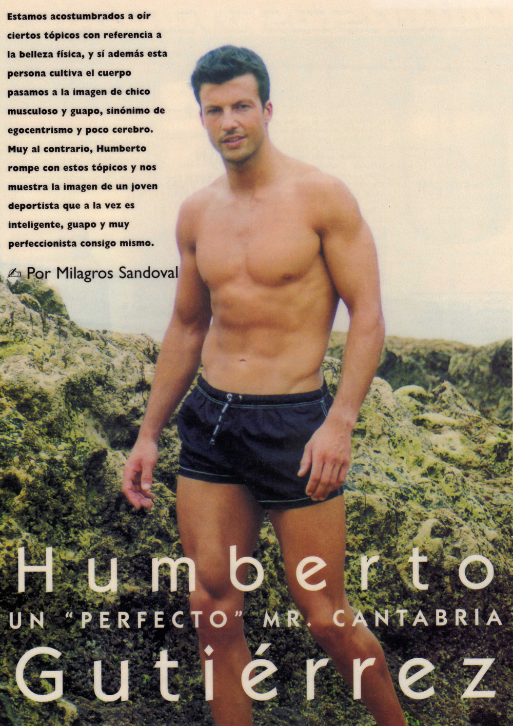 Humberto Gutierrez  MR CANTABRIA. 2 CLASIFICADO MR ESPANA 1999