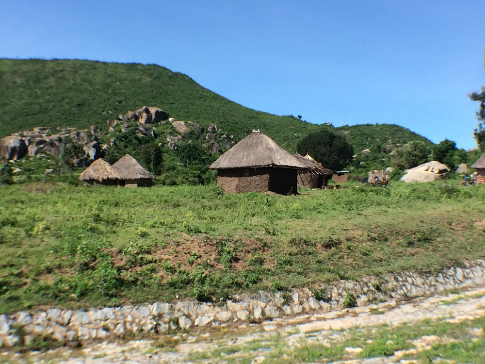 A sample of the scenery on the road between Mwanza and Tarime, Tanzania. (Laura Payton)