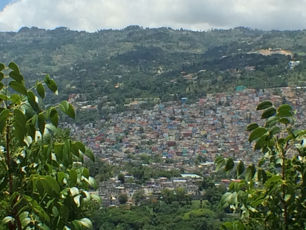 The hills of Port-au-Prince. (Laura Payton)