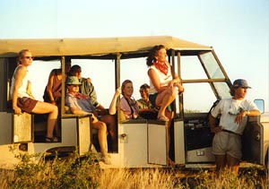 Sunset on Safari