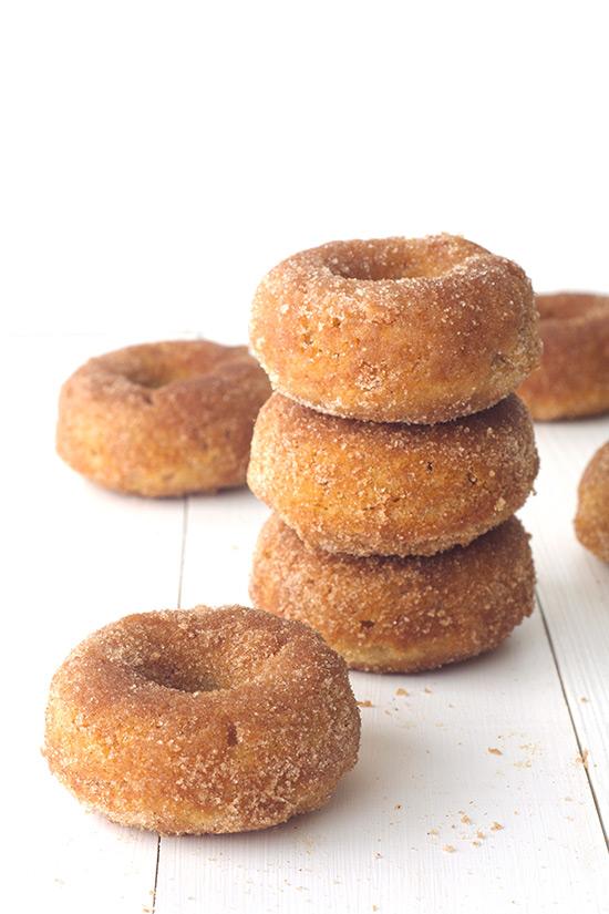 Baked Cinnamon Sugar Donuts — Sweetest Menu