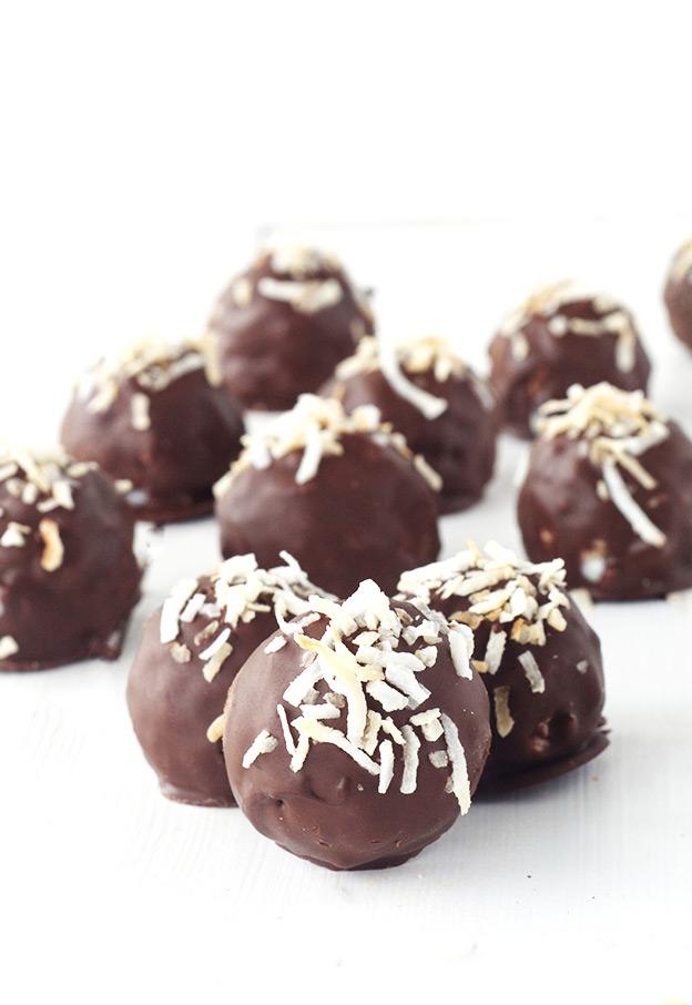 Easy malt biscuit truffles recipe