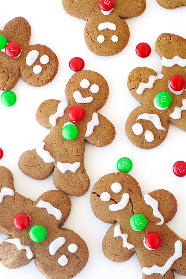 Spiced Gingerbread Men Cookies