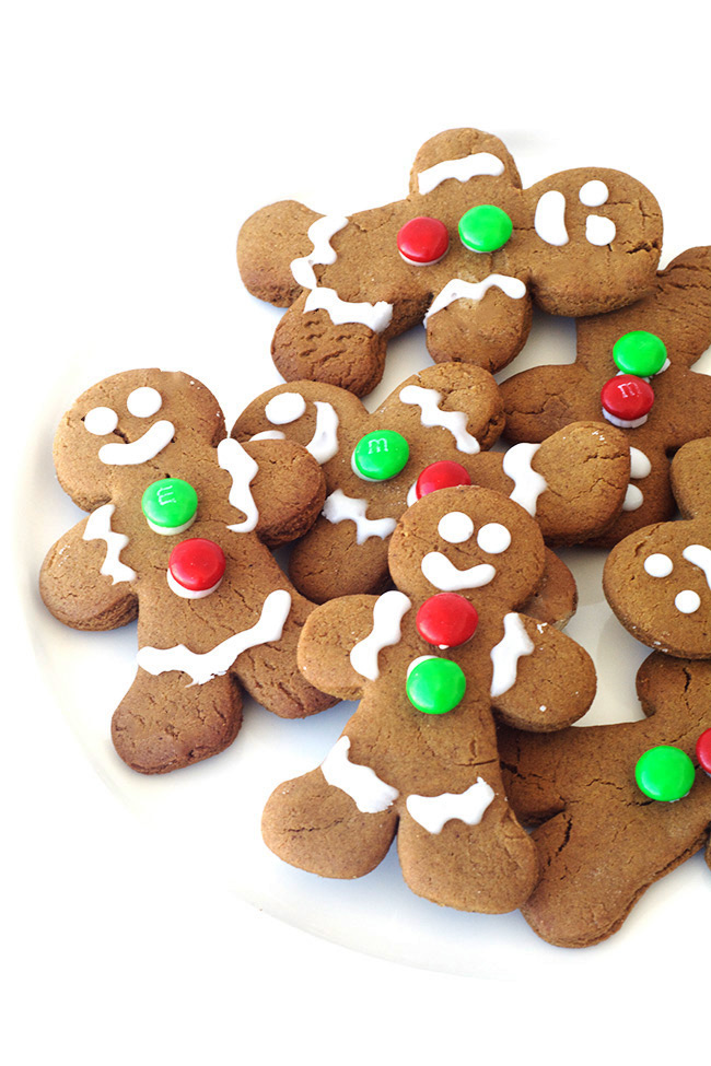 Spiced Gingerbread Men