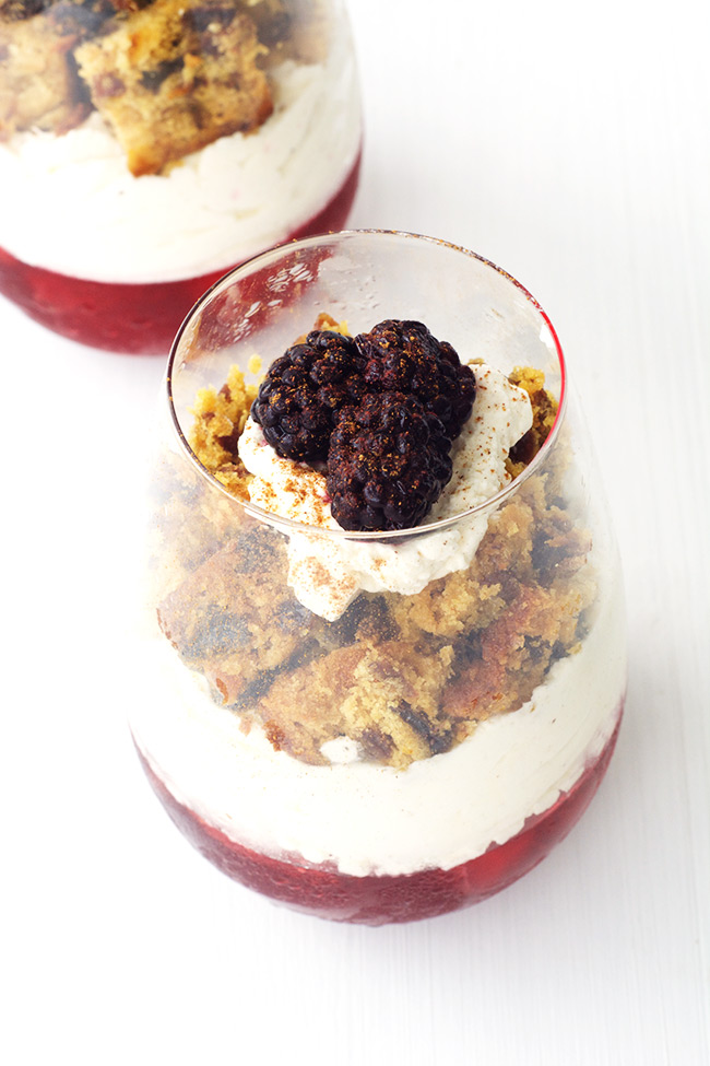Leftover Christmas Cake Parfaits   Sweetest Menu