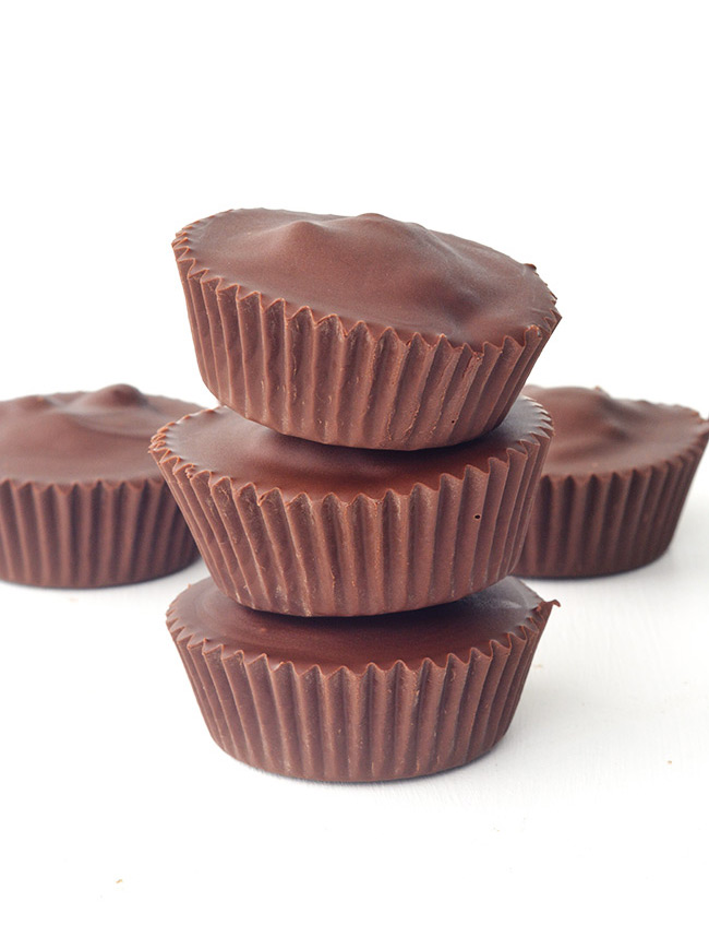 The BEST Peanut Butter and Jelly Chocolate Cups!