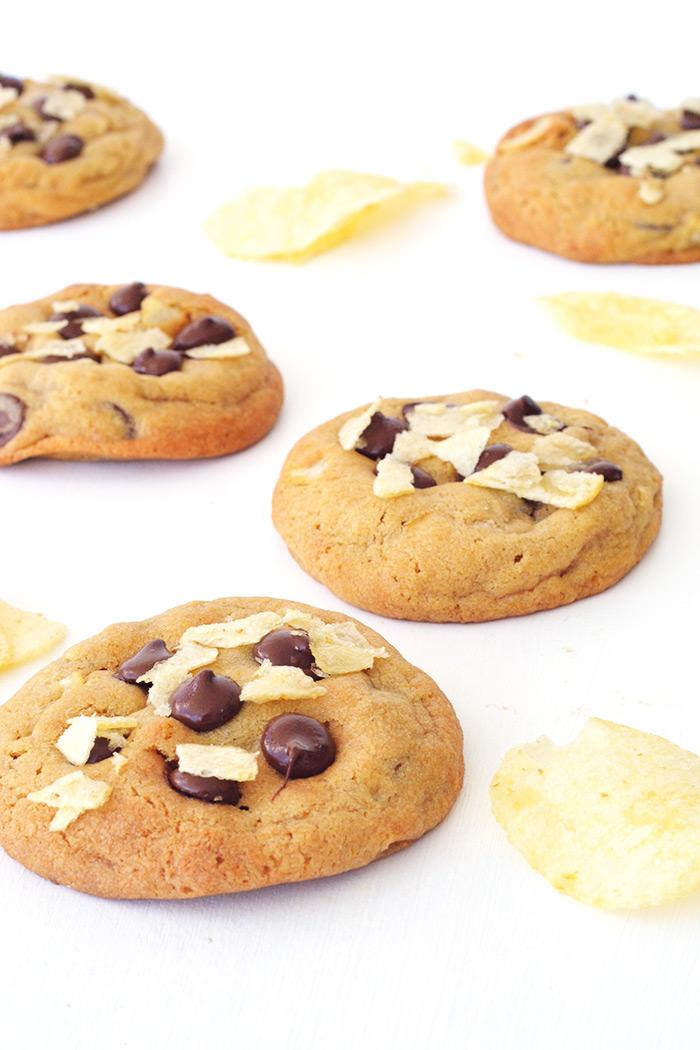 Amazing Potato Chip Chocolate Chip Cookies | Sweetest Menu