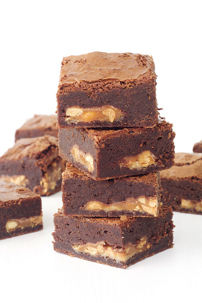 Snickers Chocolate Brownies