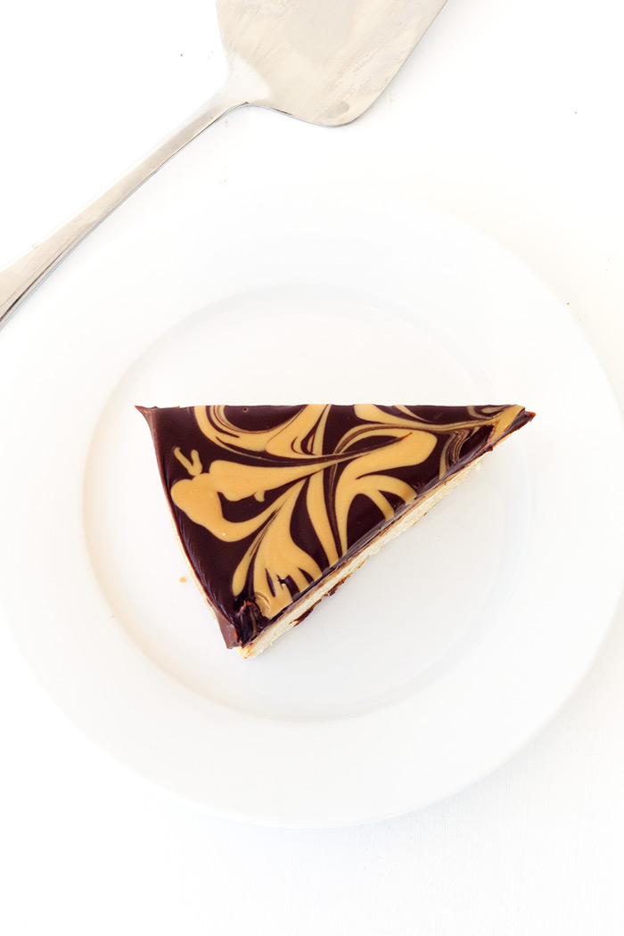 Chocolate Peanut Butter Tagalong Pie | Sweetest Menu