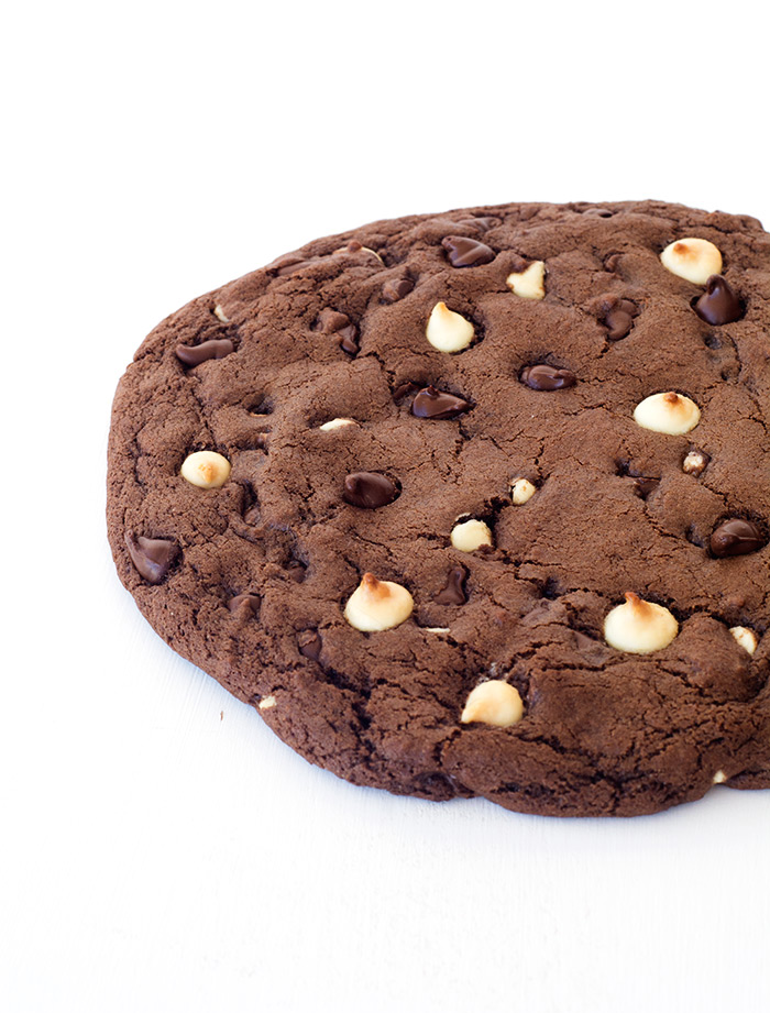 One Giant Triple Chocolate Cookie | Sweetest Menu
