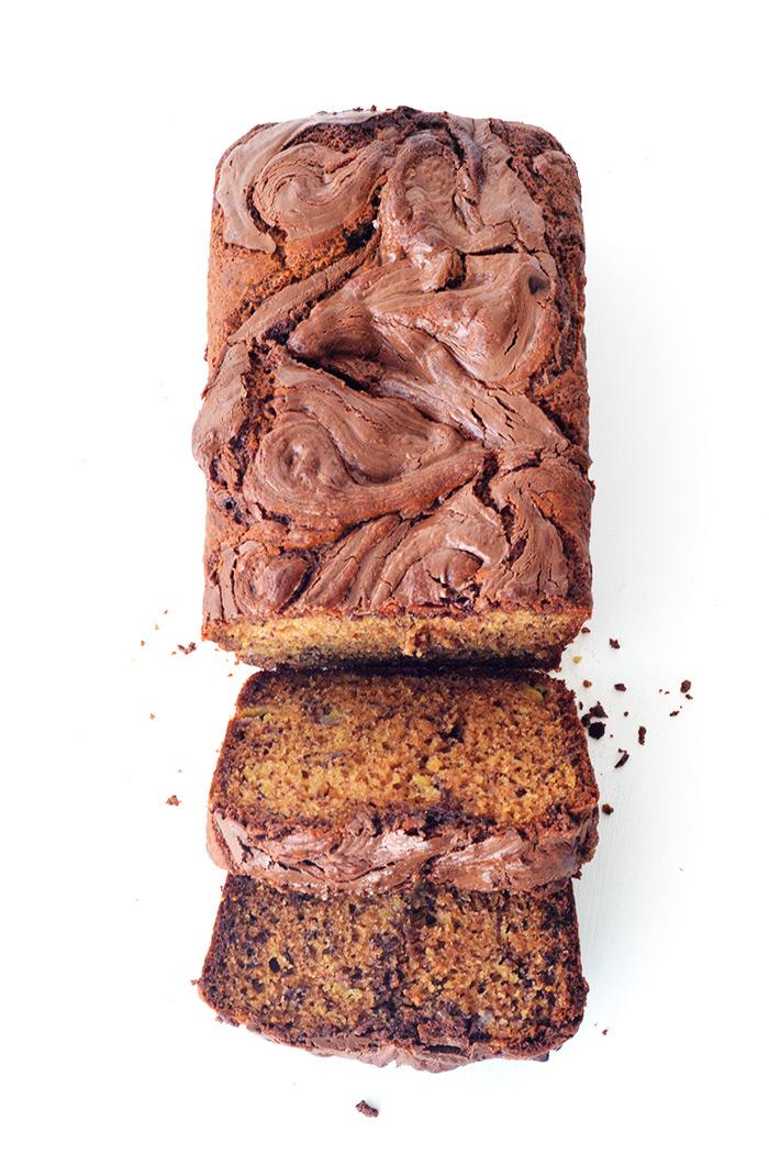 Nutella Swirl Banana Bread | Sweetest Menu