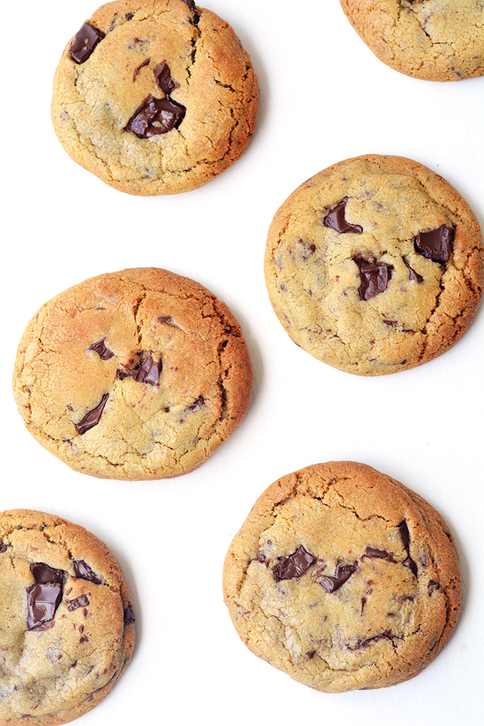 Big Fat Chocolate Chip Cookies | Sweetest Menu