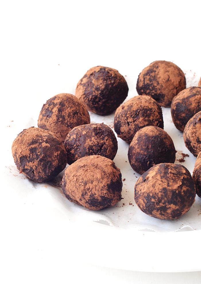 Chocolate Peanut Butter Pretzel Truffles | Sweetest Menu