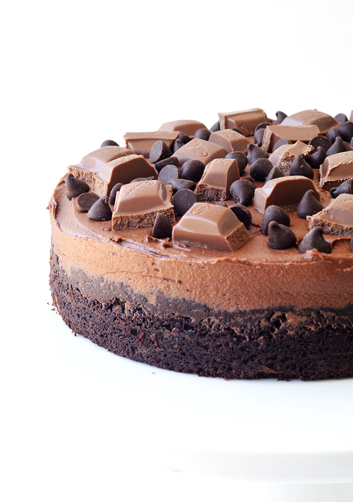 Easy Death By Chocolate Cake | Sweetest Menu