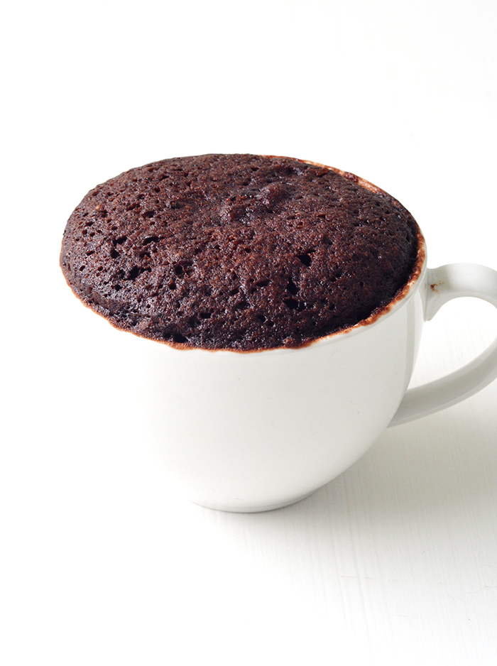 Nutella Chocolate Mug Cake For One | Sweetest Menu