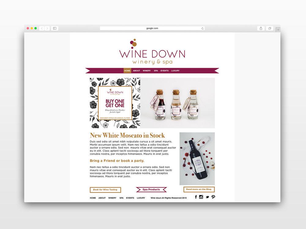 Phatthong Kristin Graphic Design Winedown Safarimockup2 RGBWEB