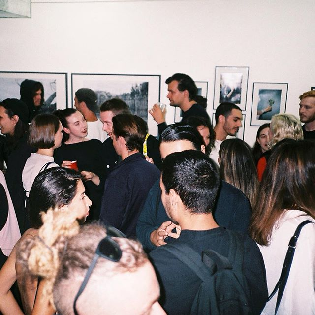 THANKS - to all the artists, attendees, buyers and friends who have make the first year of Goodspace a great time. We are taking a short break and returning January 20th with weekly exhibitions. Catch you on the flip side - photo from @journalapathetic launch a couple weeks back.