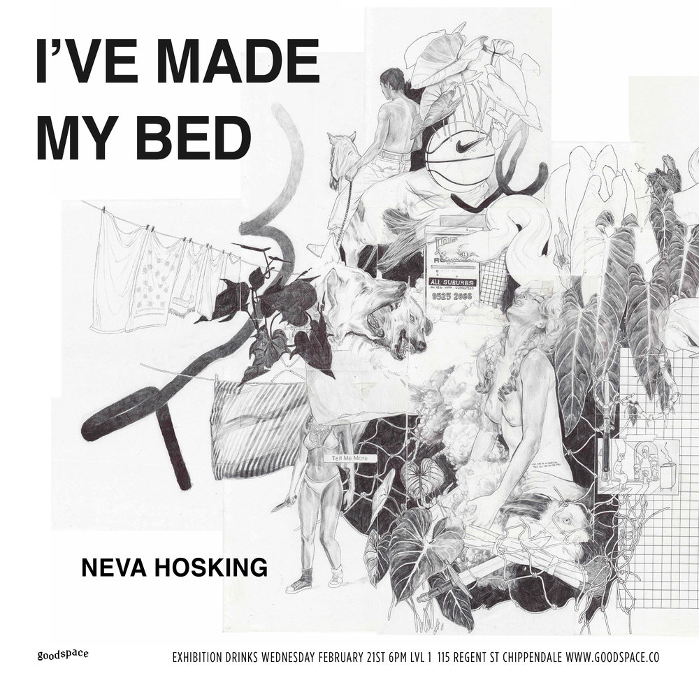 Neva Hosking – I've Made My Bed Flyer.jpg