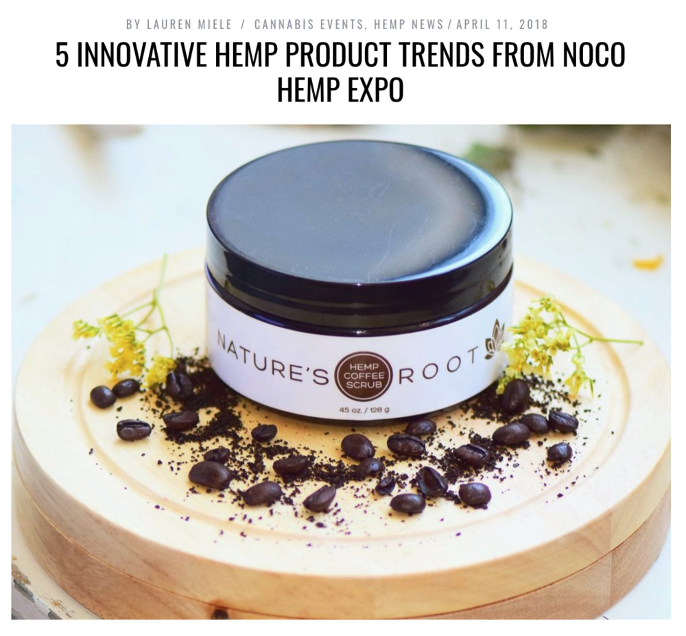 "BY  LAUREN MIELE   ""The 5th Annual  NoCo Hemp Expo  on April 6-7 at The Ranch Events Complex in Loveland, Colorado showcased top hemp companies and brands to leaders in farming, genetics, product development, innovation, technology and market strategy."""