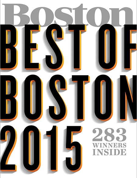 Best of Boston 2015: Best Florist, BOSTON MAGAZINE, July 2015