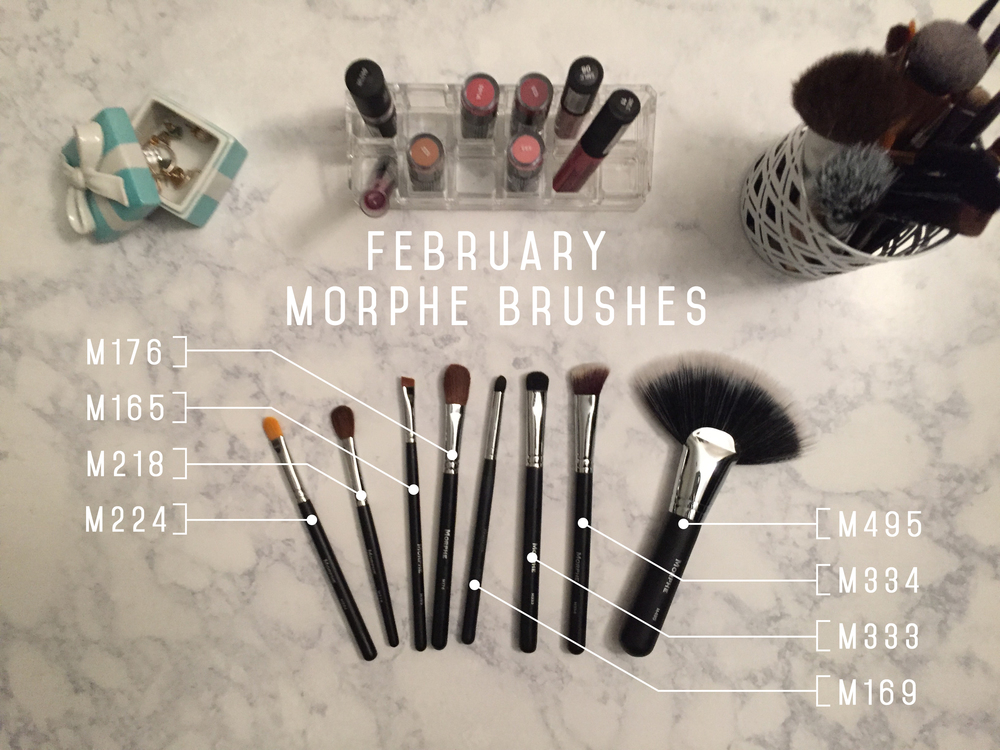 morphe subscription box review make up brushes