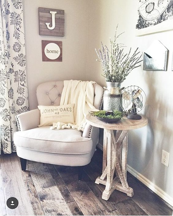 pinterest reading area inspiration