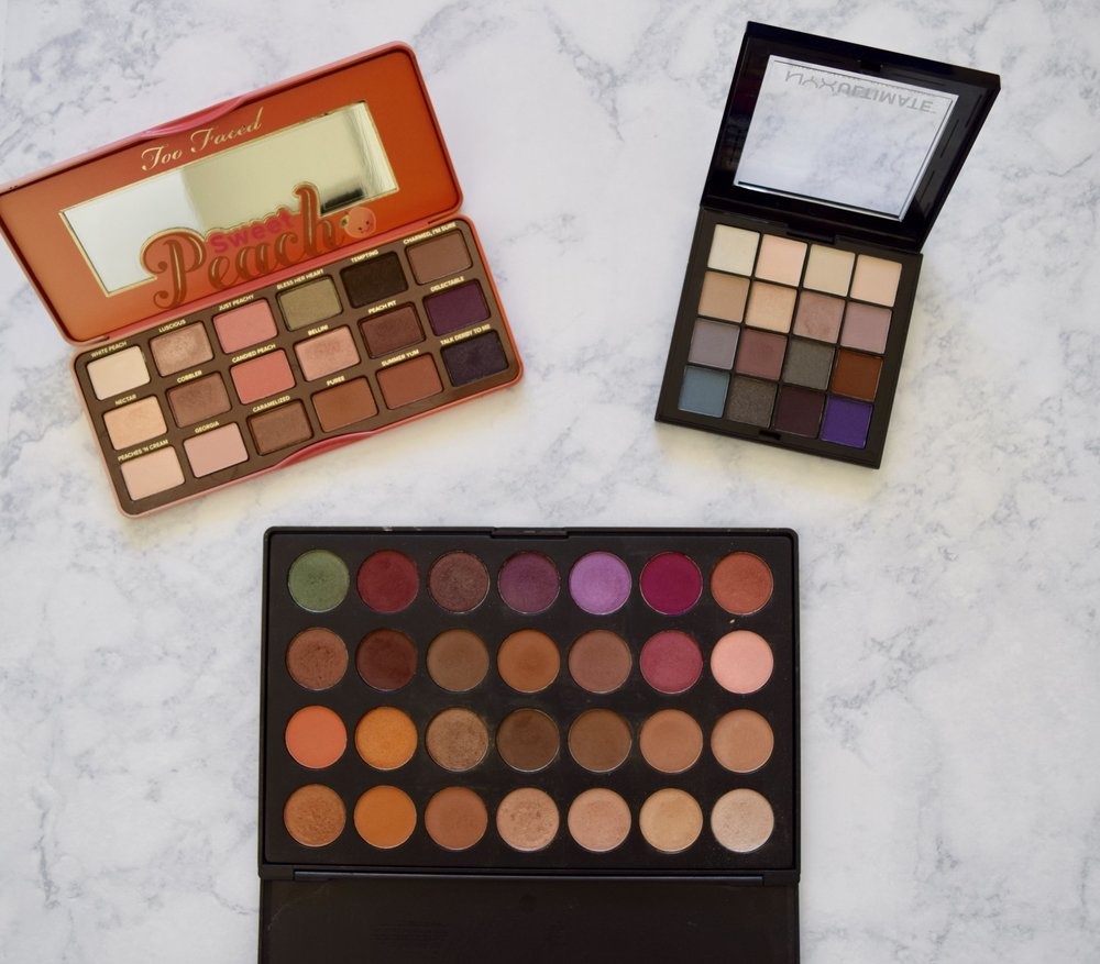 Too Faced NYX Morphe Palette Review