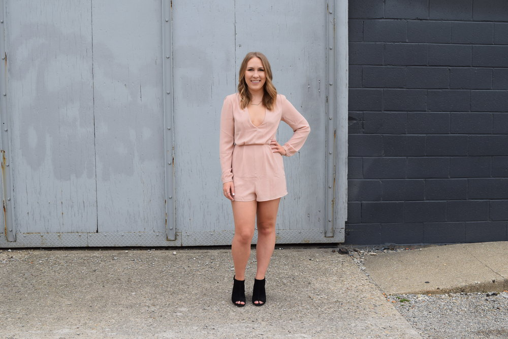 Romper // Shoes