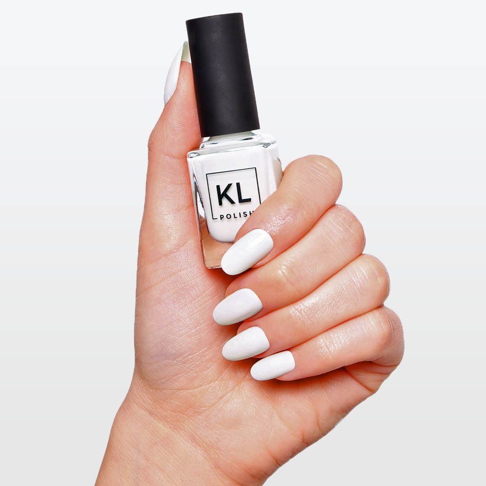 KL Polish nail polish review Coconut Milk