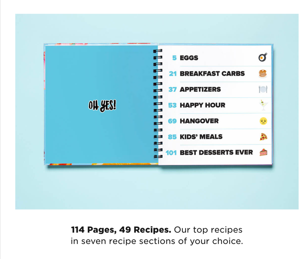tasty cookbook review