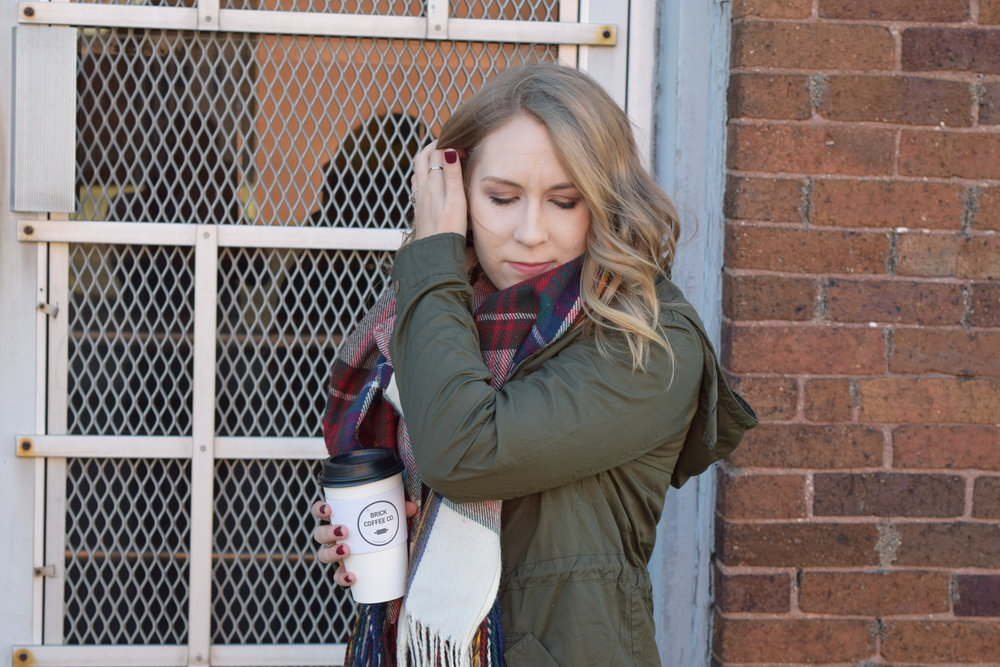 Fall Fashion Look book Fashion Blogger Clothes Roundup coffee date