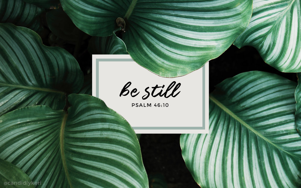 be still psalm 46:10