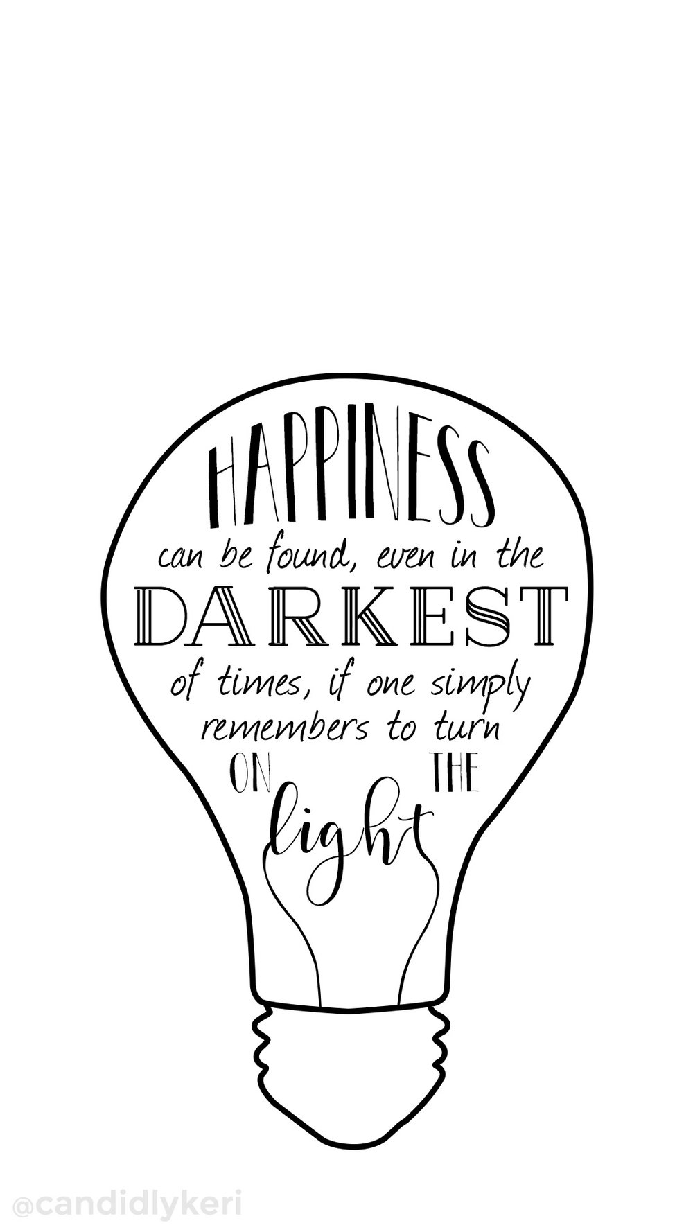 Harry potter quote, happiness